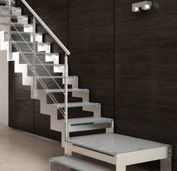 Indoor Wood Step Mono Stringer Staircase Stair Kit Buy