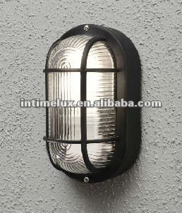 P2002s Oval Plastic Exterior Bulkhead Wall Lamps Ing