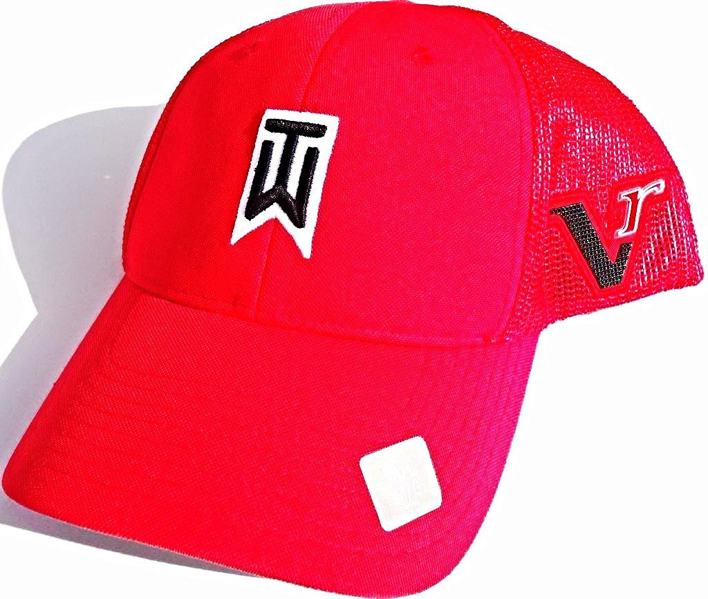 864009c72de68 Get Quotations · NEW Nike Tiger Woods TW Mesh 20Xi Vr RED Fitted M L Hat Cap