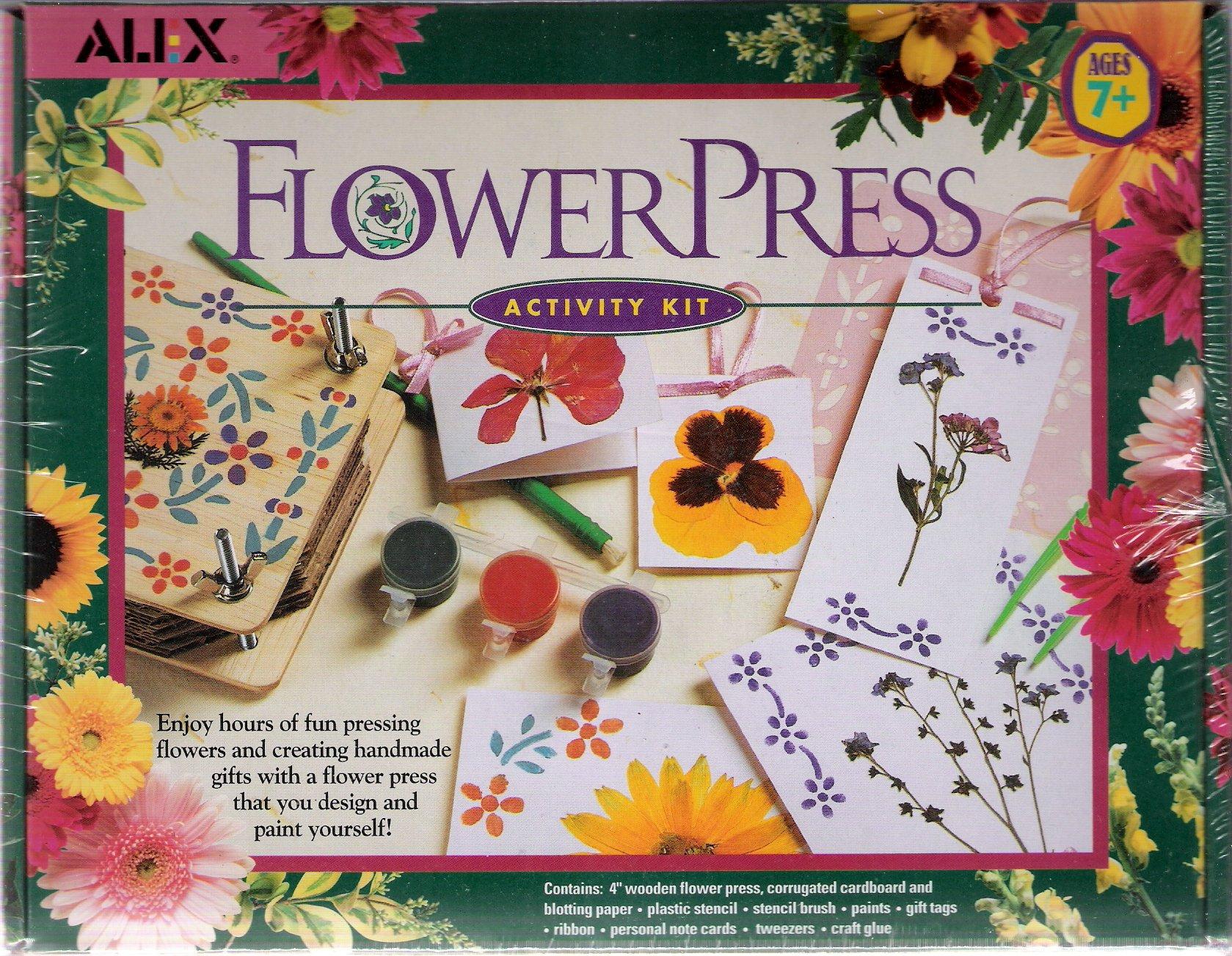 Alex flower press activity kit by alex toys mightylinksfo