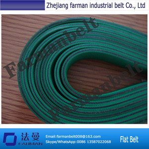 3.0MM Power Transmission Rubber Nylon Sandwich Flat Belts Used in Textile Machines