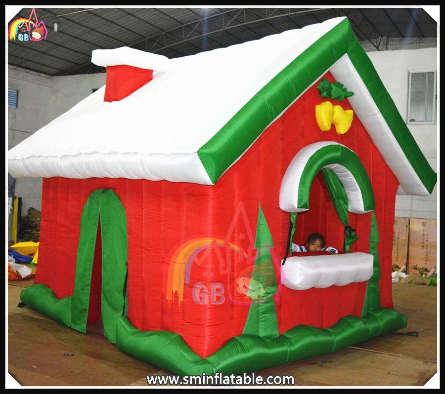 Beautiful Inflatable Christmas House Inflatable Yard