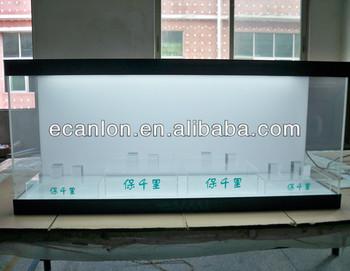 Plexiglass Jewelry Display Case Led Lights