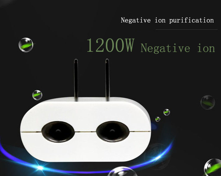 Super small portable useful hotel home indoor air cleaner ionizer filter purifier