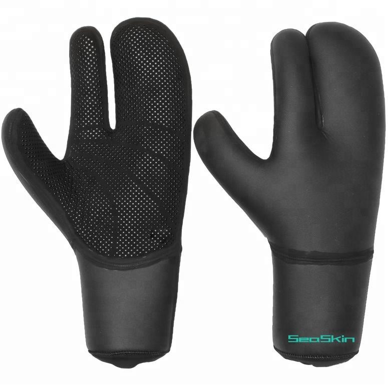 3mm neoprene gloves liquid glued surfing gloves