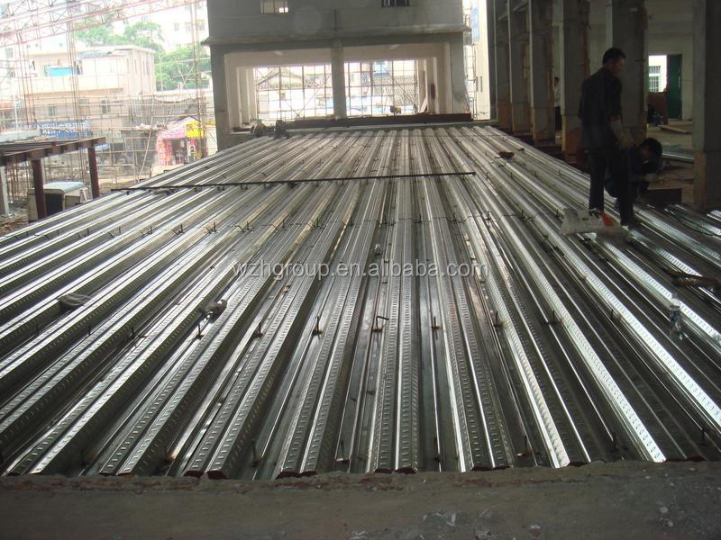 Metal Decking Sheet Gi Steel Deck Metal Stud For Gi
