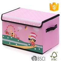 Animation can be printed into any countries pink storage bins