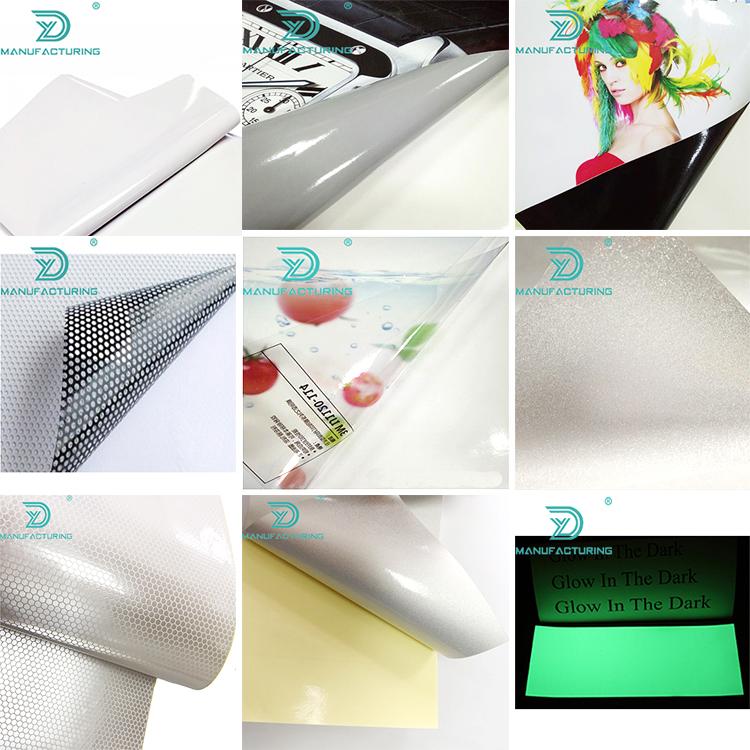 Super vista copertura finestra Micro perforado trasmissione vinil One way vision Singolo lato adesivo di stampa uv pellicole per vetri auto
