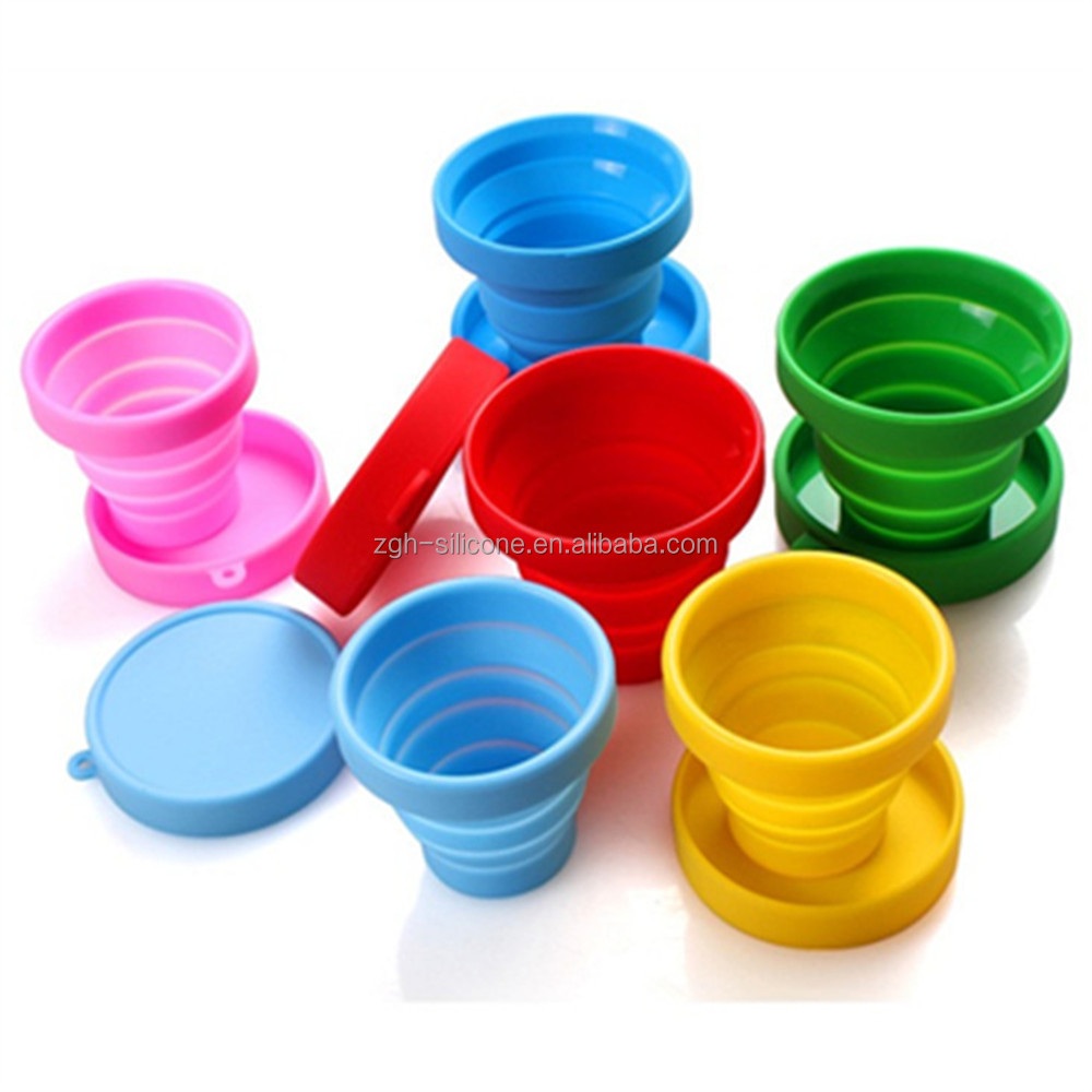 Measuring Tools Foldable Silicone Measure Cups 100% Food Grade