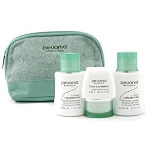 Pevonia Botanica - Your Skincare Solution Sensitive Skin Set: Cleanser 50ml + Lotion 50ml + Cream 20ml + Bag 3pcs+1bag
