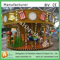 Alibaba fr America Movie amusement park Madagascar carousel for sale