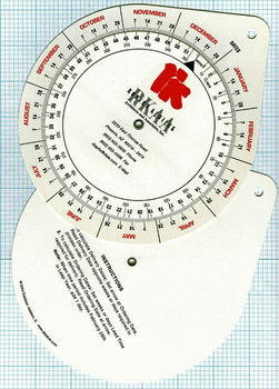 Date Calendar Wheel Charts