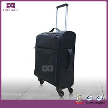 2017 popular ultra lightweight nylon fabric travel luggage