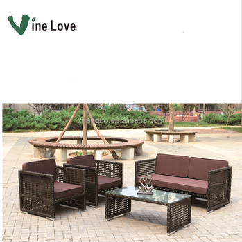 Good Quality Outdoor Indoor Ratan Sofa