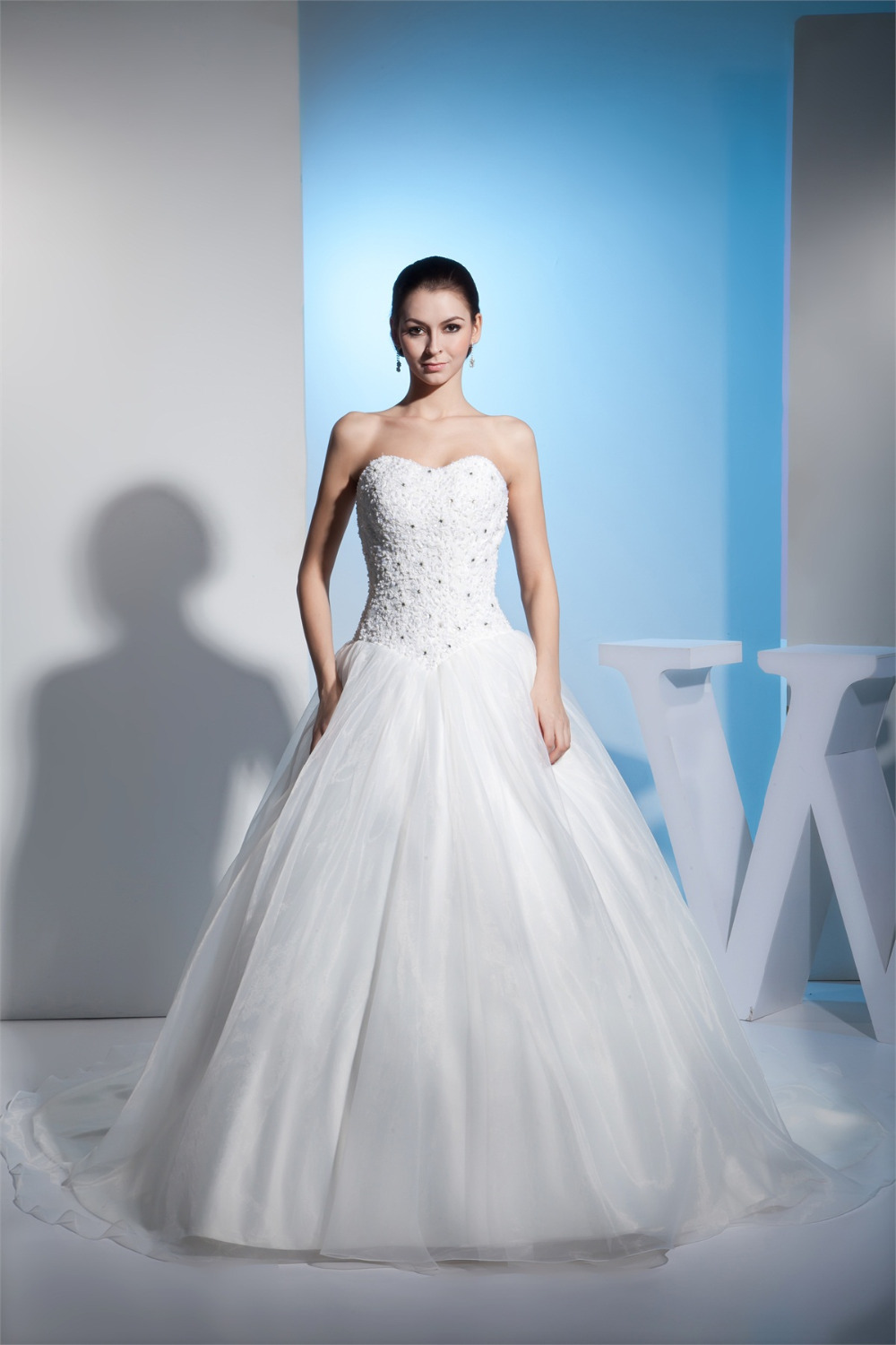 New Arrival Wedding Dress 2015 Sweetheart Lace Appliques ...