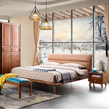 Wholesale modern design wood double bed set bedroom furniture, View  wholesale bedroom furniture, MICARO Product Details from Foshan Micaro  Furniture ...