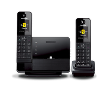 KX-PRL262B DECT 6.0 Plus Link-to-Cell Bluetooth(R) Dock Style Cellular Convergence PANASONIC combo cordless phone