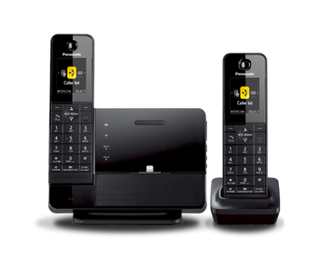 kx prl262b dect 6 0 plus link to cell bluetooth r dock style cellular convergence panasonic. Black Bedroom Furniture Sets. Home Design Ideas