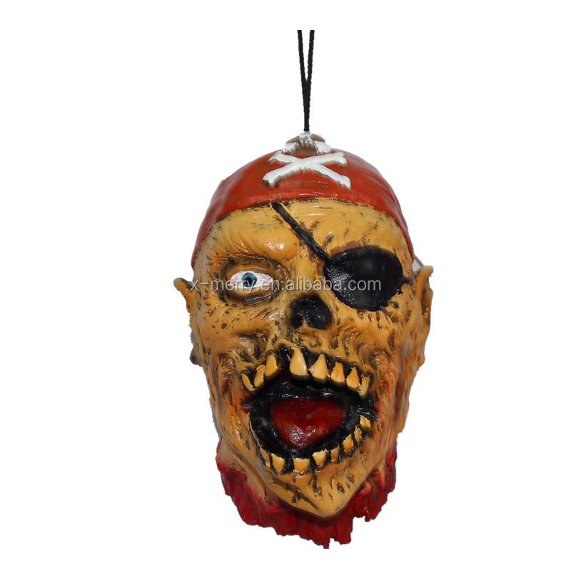 X-Feliz juguete nuevo pirata esqueleto humano máscara Masquerade ...