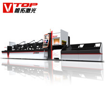 Fiber Laser Cutter For Tube Metal Stainless Tube steel square pipe making machine