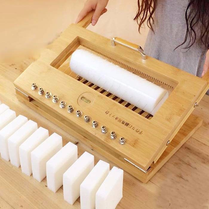 Guangzhou Factory Wooden Handmade Soap Cutter With Wire