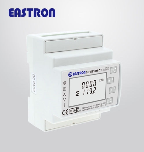 SDM630MCT V2 MID 3 Phase Sub- Meter, Multi-function Energy Meter, RS485  Modbus Meter,, View 3 phase energy meter, Eastron Product Details from