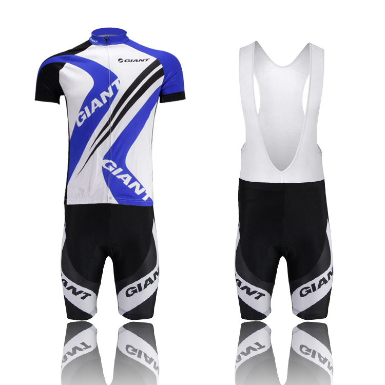 bd4c52415 Get Quotations · Blue Bicycle Bib short sets GIANT Cycling Sets Cycling  clothing short sleeve bike bicycle Cycling jersey