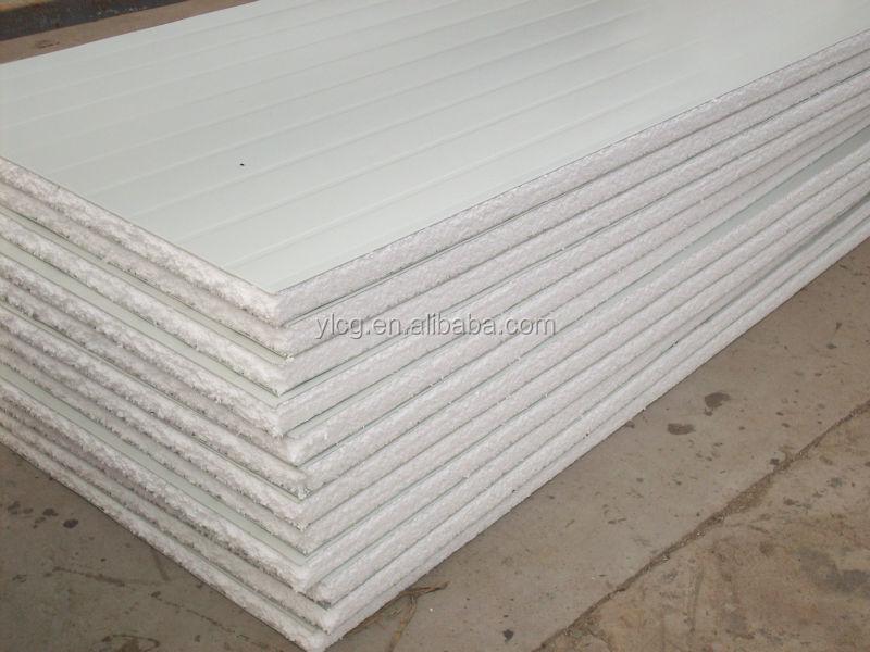 Eps Insulation Panels : Mm thick eps foam board heat insulation sandwich panel