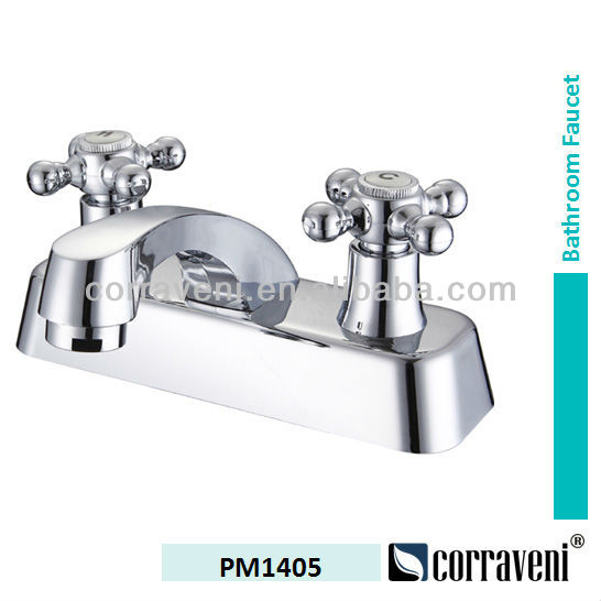 "South America lavatory faucet 4"" plastic mixer PM1405"