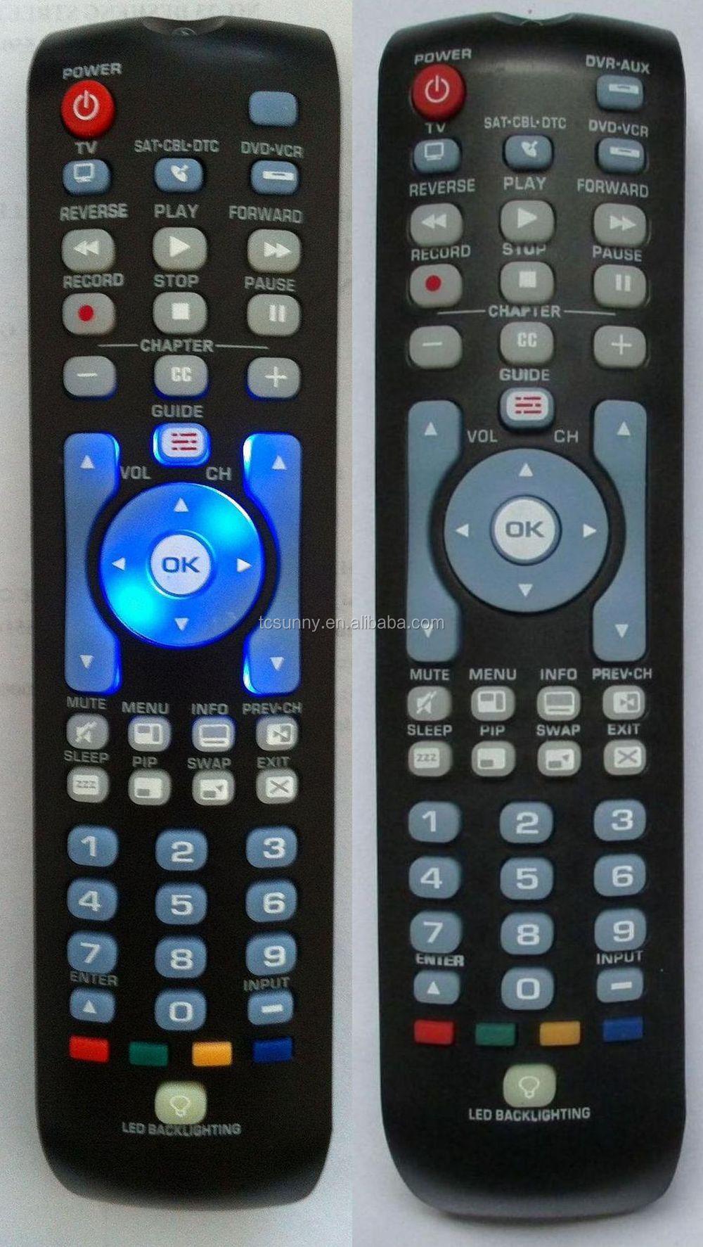 backlit universal remote control RCA RCRN04GR Series