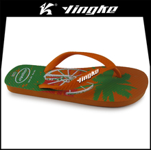 Summer outdoor men beach rubber flip-flops custom logo cheap wholesale