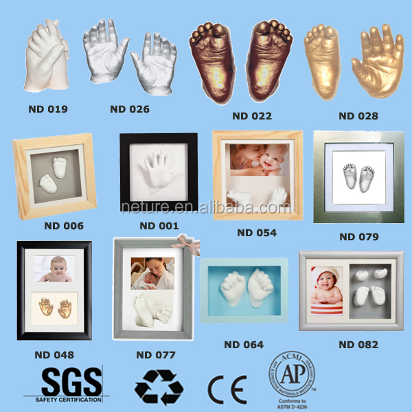 Baby Air Dry Clay Handprint Ornament Promotional Gifts