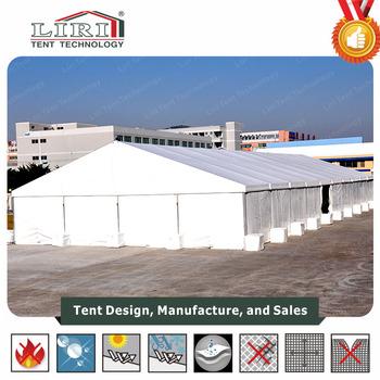 Plain White Pvc Workshop Marquee Aluminium Frame Truss Structure ...