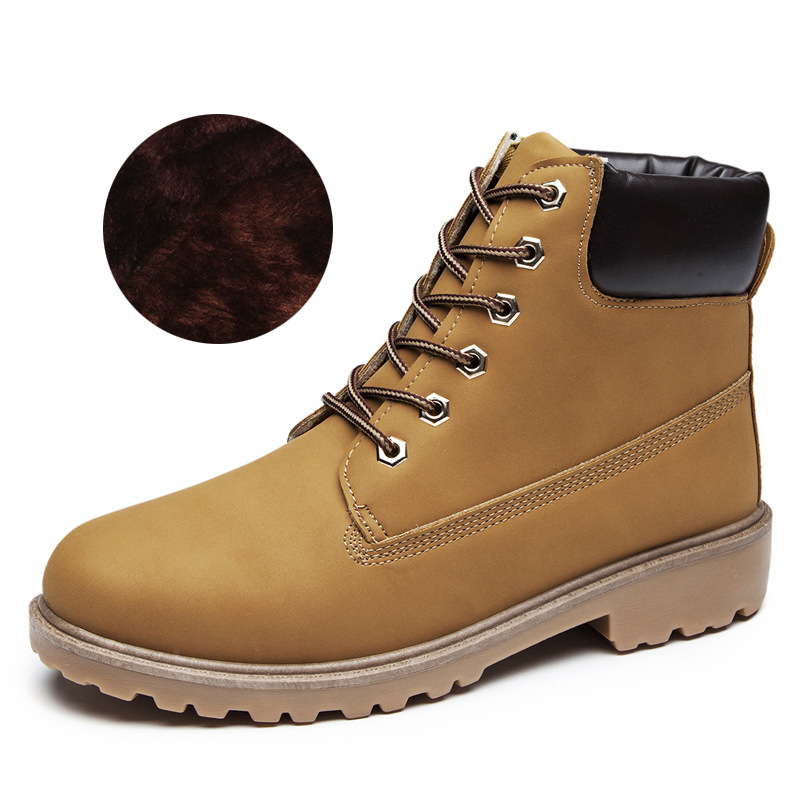 Fashion lover boots shoes men nonsexual leather boots