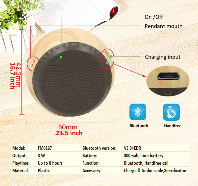 Speaker Terlaris 2013 Audio Rumah Kayu Pcb Papan Mp3 Bluetooth 10 Watt 8 Ohm Speaker Oem Label Pribadi dengan Sirkuit Usb