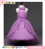 Wholesale Long Dreamy Wedding Flower kids Prom Party Dresses