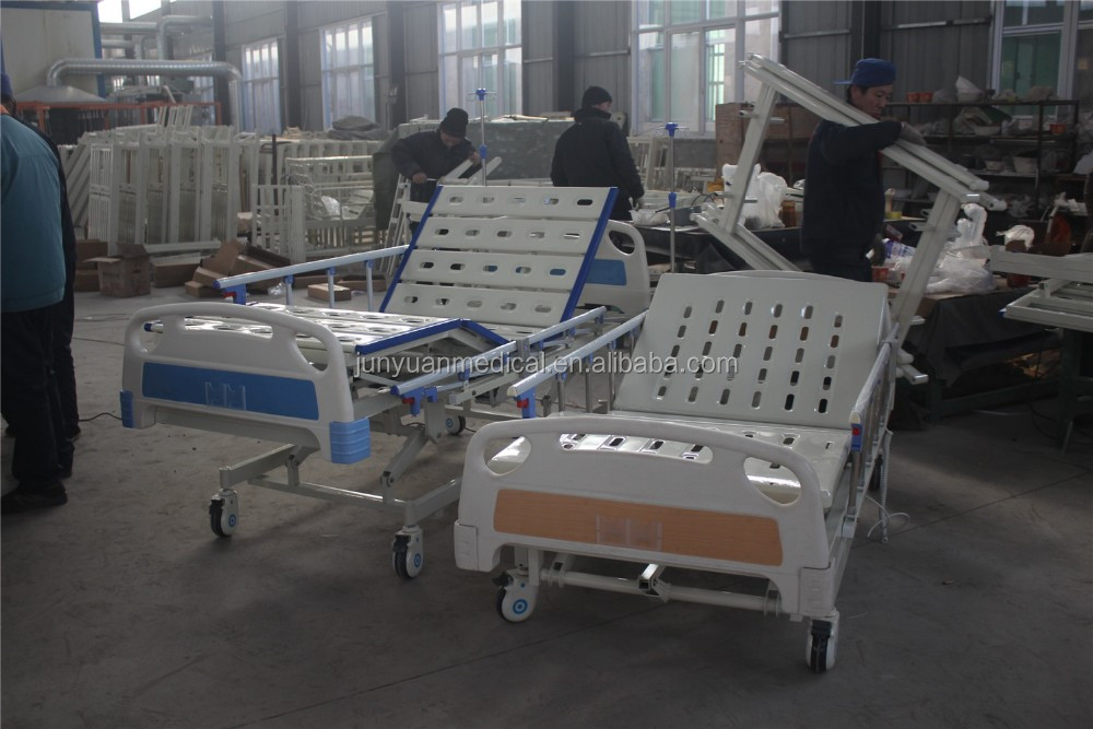 manufacturer supply 3 function medical electric ICU hospital bed prices