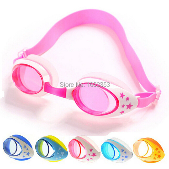 44436990ca3f Get Quotations · silicone children swim glass polycarbonate upgrade  waterproof baby goggles mirror high-grade glasses with cover