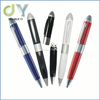 Custom wholesale high quality 3-in-1 16GB USB Flash Drive pen usb stick with Ballpoint Pen + Stylus