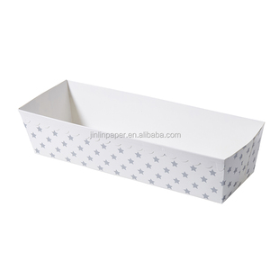 Custom Printed Paper Baking Mould Heat Proof Bread Baking Loaf Pan