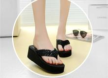 China manufacturer superior quality personalized design cute chunky platform flip flop
