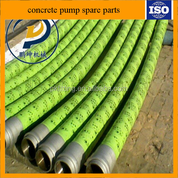 "top selling 2""-5"" Reinforced Concrete Pumping Replacement Parts Peristaltic 5 inch Rubber Hose for Concrete hose"