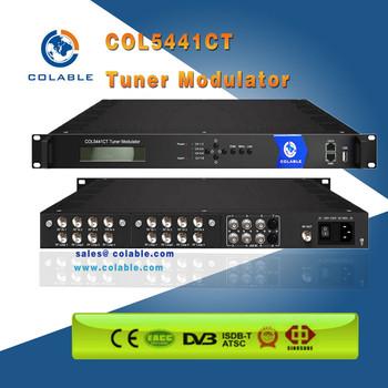 Mux Scrambler Compact RF Modulator For Cable Tv Scr QAM Modulator8 DVB