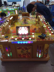 2015 low investment high profit business commercial shooting fish table game