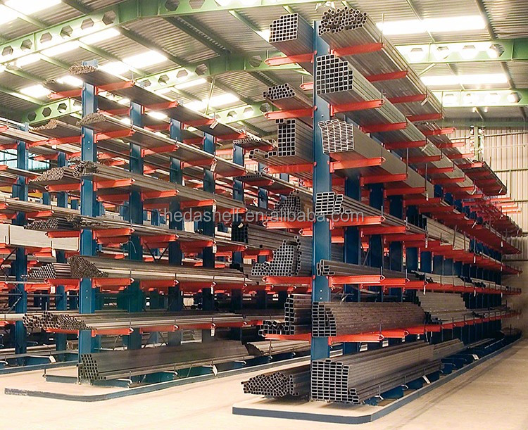 Multifunction Aluminium Storage Rack / Warehouse Cantilever Racking System  For Steel Building Material
