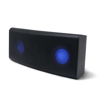 Creative Super Bass 3D Sound LED Wireless Speaker Subwoofer 2000mah Large Power Metal bluetooth speaker wholesale