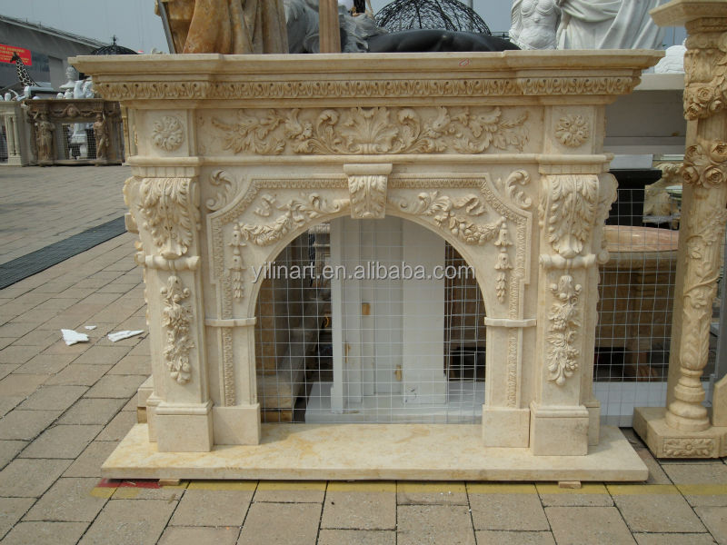 Indoor decorative stone surround fireplace buy for Buy stone for fireplace