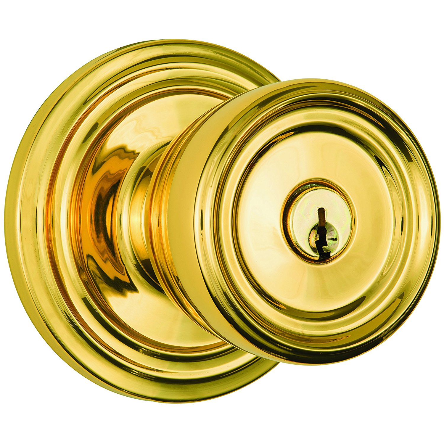 Get Quotations · Brinks Home Security Push Pull Rotate Door Locks 23005 105  Barrett Entry Knob