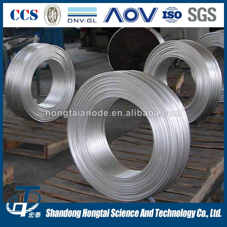 factory price sacrificial anode extruding magnesium ribbon