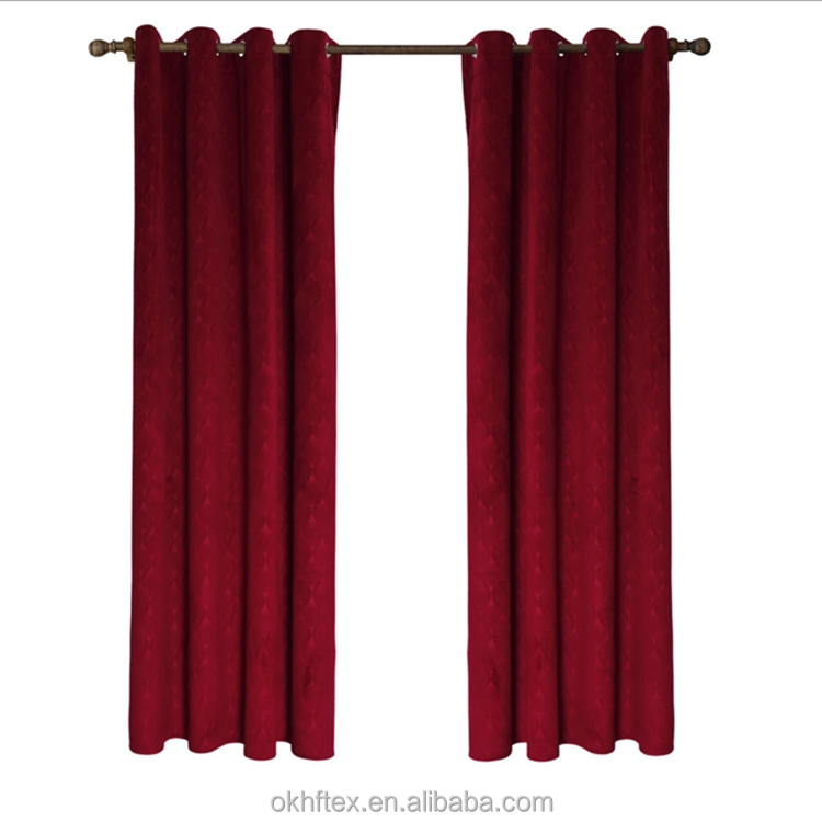 cotton linen fabric curtains for house handmade curtains